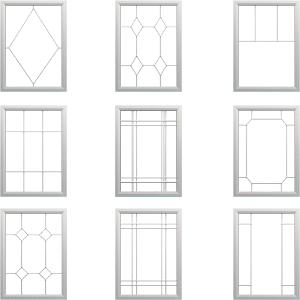 Grids Options Vinyl Professionals Windows And Doors