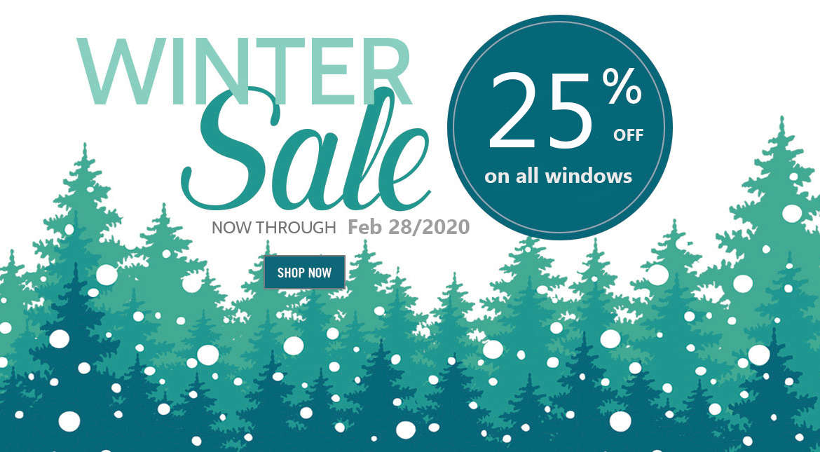 Limited time offer. Winter sale. 25% OFF !